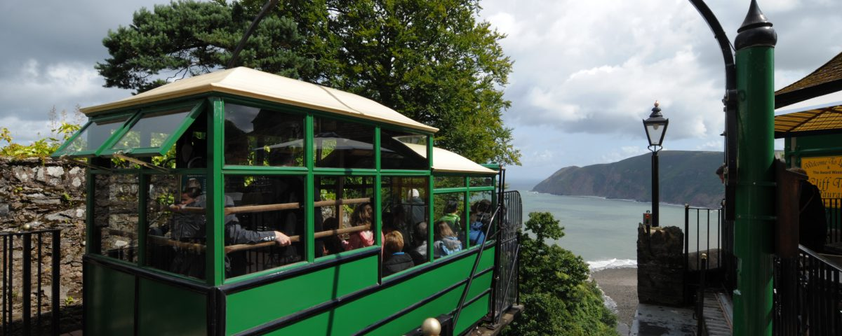 The UK's BEST Cliff Railway
