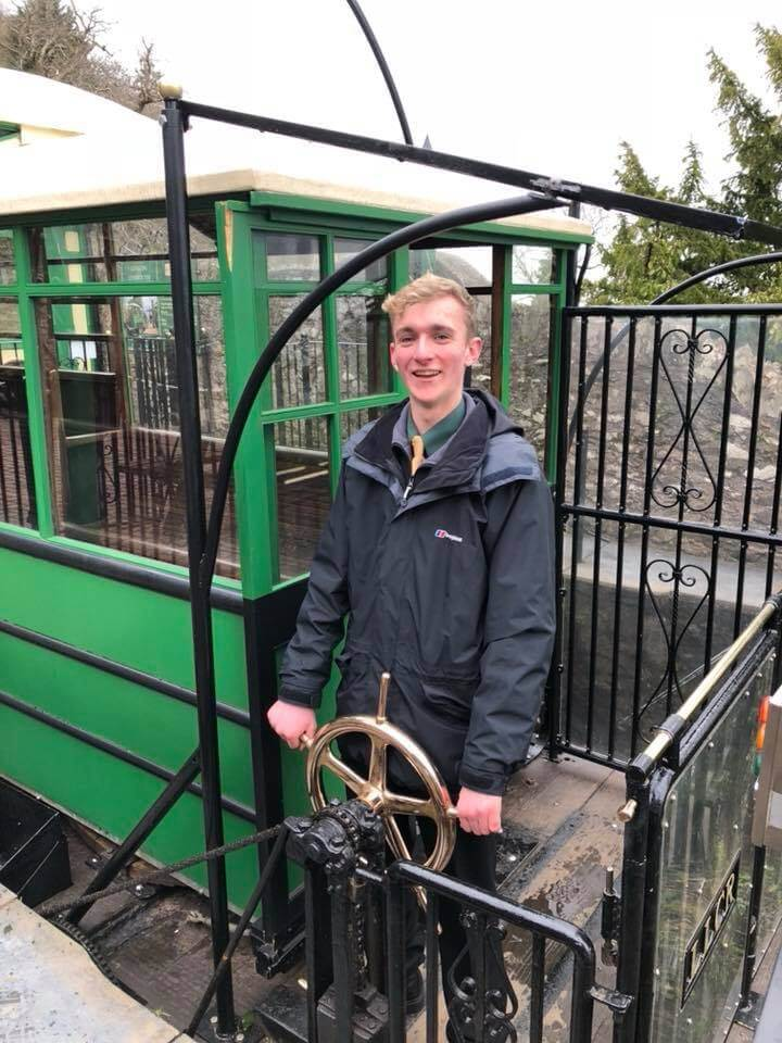 Lynton and Lynmouth Cliff Railway Driver