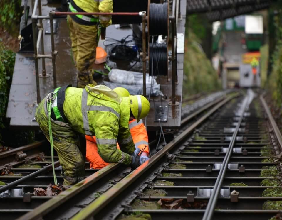 Cliff Railway Openreach Broadband